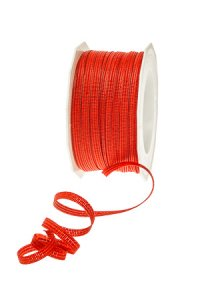 Ringelband Oakland 50 m, 5 mm rot