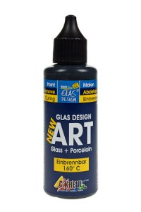 Glas Design New Art schwarz, 55 ml