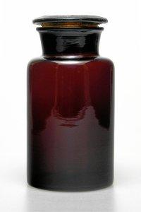 Apothekerglas  500 ml braun - 2. WAHL