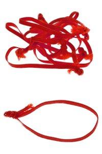 Textilschlaufen rot - 50er Pack