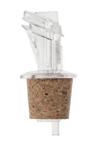 Ausgießerkorken Kunststoff mit Schutzklappe 20 mm