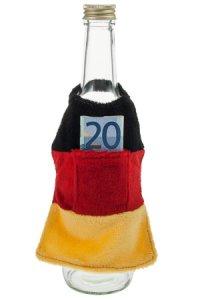 Flaschenschürze Deutschland-Farben