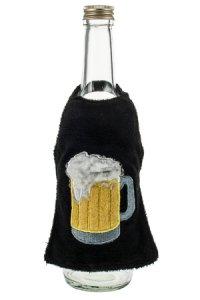 Flaschenschürze Henkelglas mit Bier