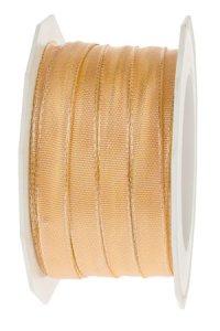 Stoffband  25 m, 10 mm Lyon pfirsich
