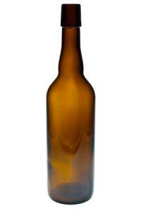 Bügelflasche  750 ml braun