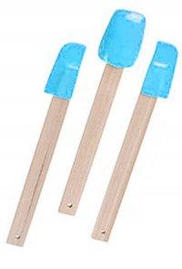 Schaber-Set Silikon - 3-teilig blau