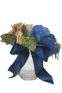 Blumenkranz mit Schleife