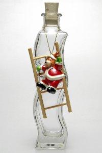 Anhänger Weihnachts-Elch auf Leiter