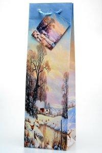 Flaschentasche Winterlandschaft