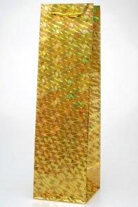 Flaschentasche gold metallic