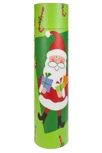 Flaschenbox Weihnachtsmann grün