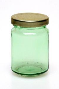 Rundglas  156 ml lichtgrün