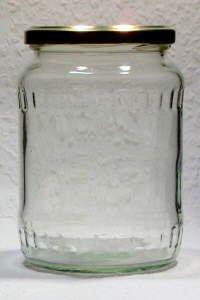 Facettenglas  720 ml