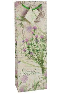 Flaschentasche Summer Garden Wiesenblume, 12,5 x 8 x 36 cm