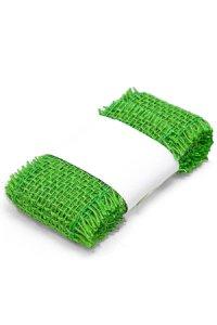 Juteband 2 m, 50 mm grün