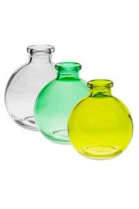 Flaschen-Set Flora Kugel groß, 3-teilig
