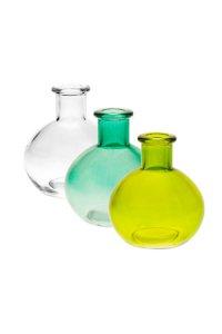 Flaschen-Set Flora Kugel  klein, 3-teilig