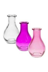 Flaschen-Set Viola Tropfen mini, 3-teilig
