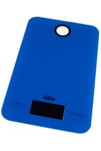 Digitale Küchenwaage blau