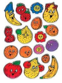 Schmucketiketten Früchte Stone