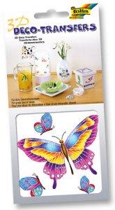 Deco-Transfers 3D Schmetterlinge, 10 x 10 cm
