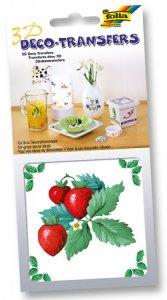 Deco-Transfers 3D Erdbeere, 10 x 10 cm