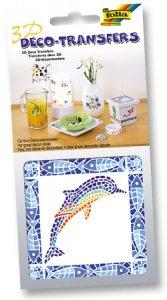 Deco-Transfers 3D Mosaik Delfin, 10 x 10 cm