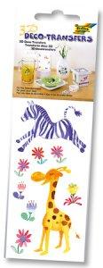 Deco-Transfers 3D Zebra, 6,5 x 13,5 cm