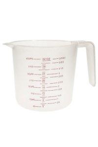 Messbecher 1 Liter, EU- und US-Maße