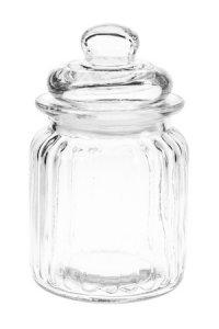 Vorratsglas mit Facetten 275 ml