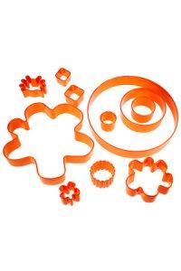 Ausstecher-Set, 13-teilig orange