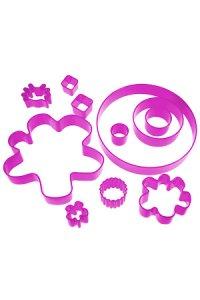 Ausstecher-Set, 13-teilig pink