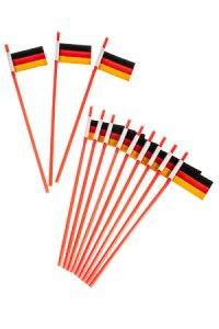 Trinkhalm Deutschland, 12 Stück