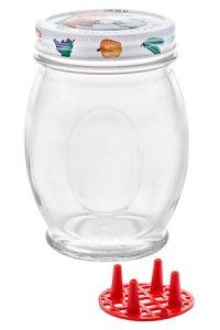 Schraubglas LOrtolano 780 ml mit Deckel