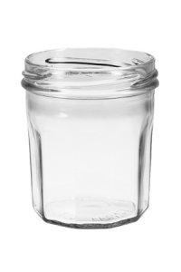 Sturzglas 200 ml mit Facetten