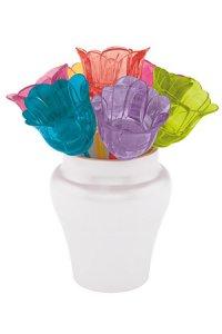 Cocktailstäbchen Blumen, 7er Set