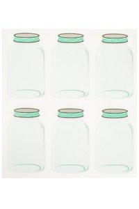 Etiketten Einmachglas, 6 Stück