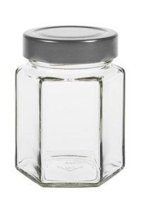 Sechseckglas 203 ml Deep