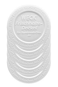WECK-Frischhalte-Deckel  60 mm - 5er Pack
