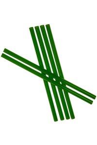 Trinkhalm wiederverwendbar 19 cm, Ø 7,7 mm, 6er Pack, grün