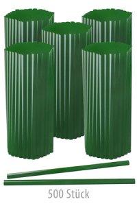 Trinkhalm 19 cm, Ø 7,7 mm, grün, 500 Stück