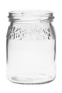 Schmuckglas Fruchtdekor 200 ml