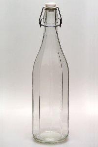 Bügelflasche 1000 ml eckig