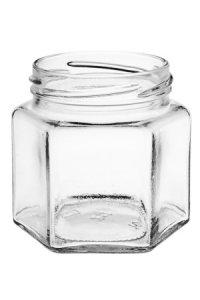 Sechseckglas 212 ml