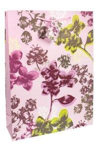 Geschenktasche Florales, 25 x 8,5 x 34 cm