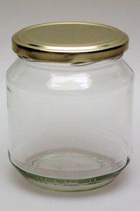 Rundglas  587 ml