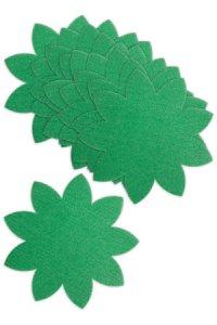 Blattdeckchen Ø 160 mm, grün, 10 Stück