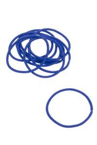 Elastische Schlaufen 40 mm, blau, 10 Stück
