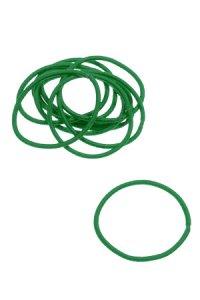 Elastische Schlaufen 40 mm, grün, 10 Stück