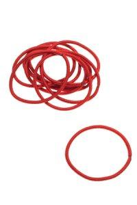 Elastische Schlaufen 40 mm, rot, 10 Stück